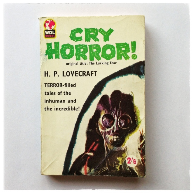 Cry Horror Lovecraft Cover