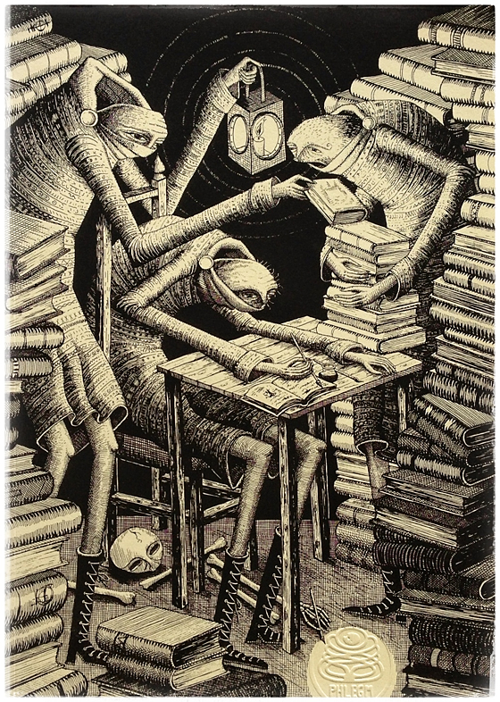 Phlegm Pen and Ink Book Cover