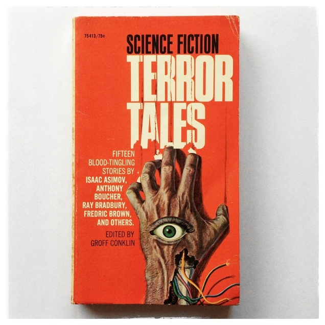 Science Fiction Terror Tales Cover